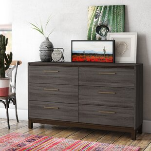 Pinnacles 6 Drawer Double Dresser