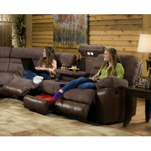 Annable Reclining Sectional  sc 1 st  Wayfair : brown reclining sectional - Sectionals, Sofas & Couches