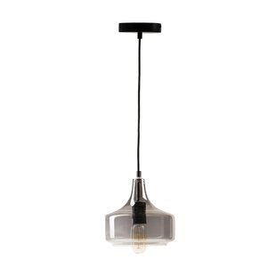 Didomenico Vintage Inspired 1-Light Bell Pendant by Wrought Studio