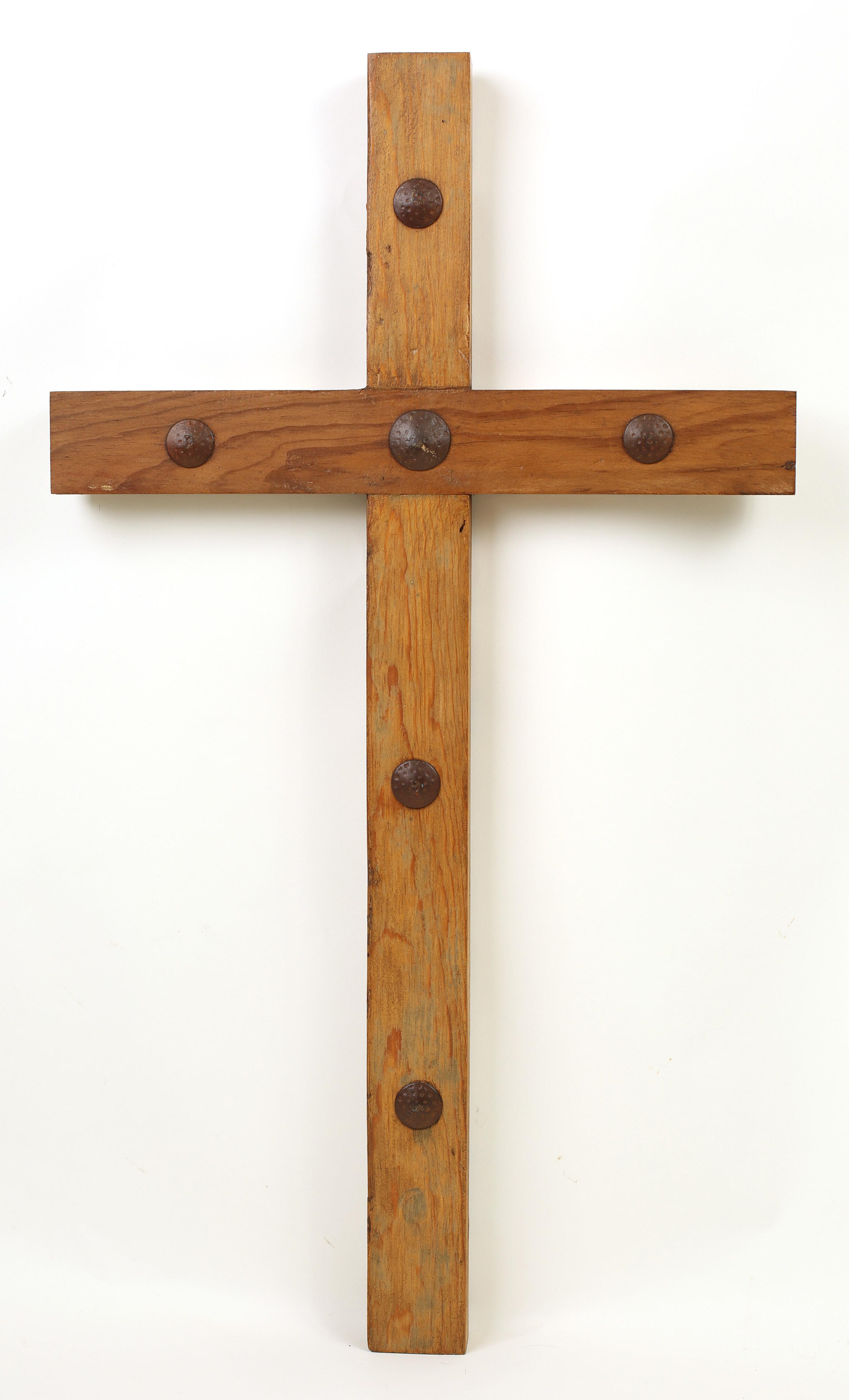 Double-sided cross door or wall hanger
