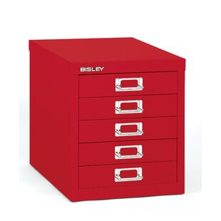 Bisley 5-Drawer Vertical Filing Cabinet