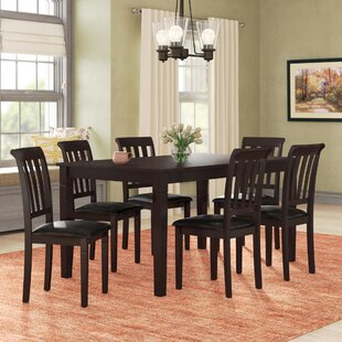 Winnetka 7 Piece Dining Set Red Barrel Studio