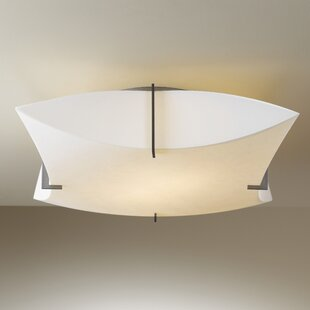 Bento 2-Light Semi Flush Mount by Hubbardton Forge