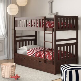 Bradninch Bunk Bed with Trundle by Birch Lane™ Heritage