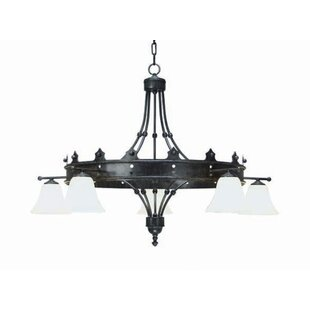 2nd Ave Design Strada 5-Light Shaded Chandelier