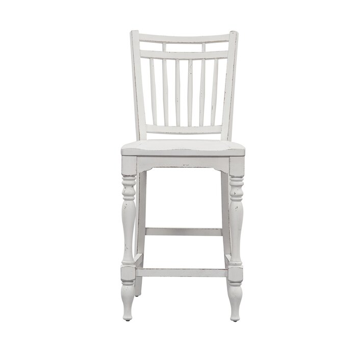 Surprising Tiphaine Spindle Back Counter 24 Bar Stool Evergreenethics Interior Chair Design Evergreenethicsorg