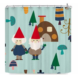 Bruxamagica Gnome Single Shower Curtain