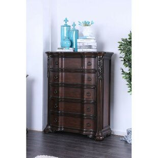 Strait 5 Drawer Chest by Astoria Grand Sale