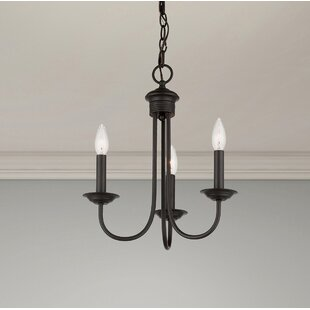 Carruthers 3-Light Candle Style Chandelier