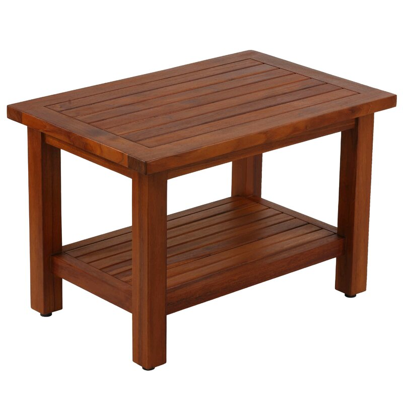 Highland Dunes Kinnison Teak Coffee Table | Wayfair