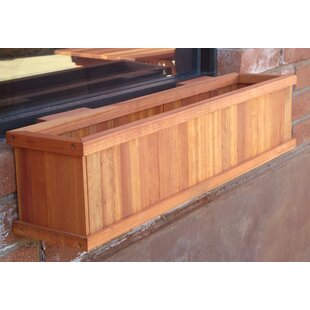 Best Redwood Window Wood Planter Box
