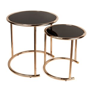 Gregor 2 Piece Nesting Table by Willa Arlo Interiors