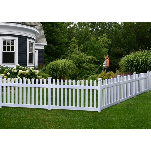 Zippity Outdoor Products 3 Ft X 6 Ft Newport Picket Yard