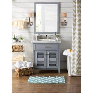 Hamil 31 Single Bathroom Vanity Set with Mirror ByHighland Dunes