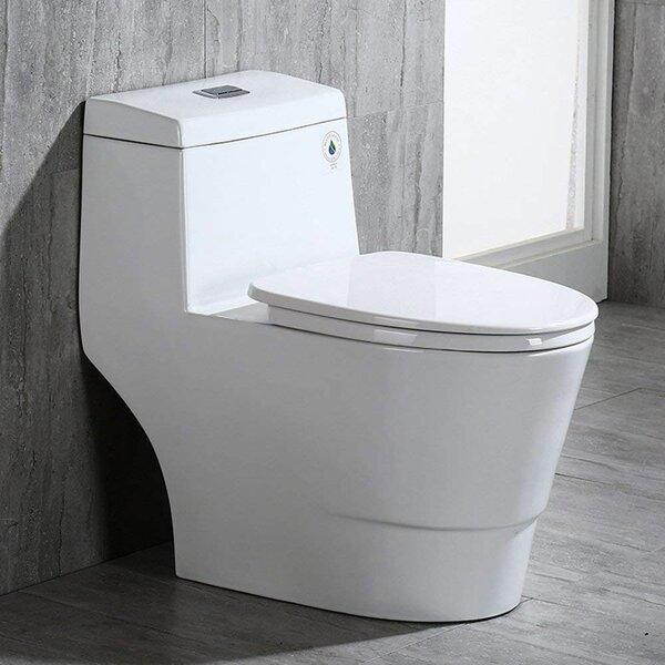 Awe Inspiring Stain Resistant Modern Toilet Wayfair Andrewgaddart Wooden Chair Designs For Living Room Andrewgaddartcom