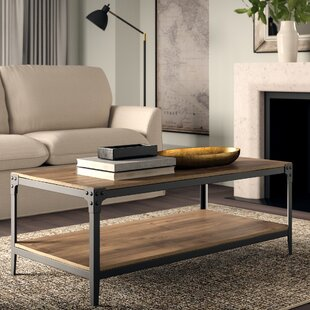 Cainsville Coffee Table with Tray Top