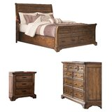 Canup California King Sleigh Configurable Bedroom Set by Charlton Home