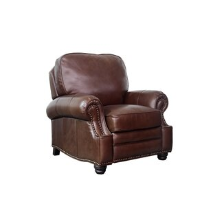 Darby Home Co Merriwood Leather Manual Recliner