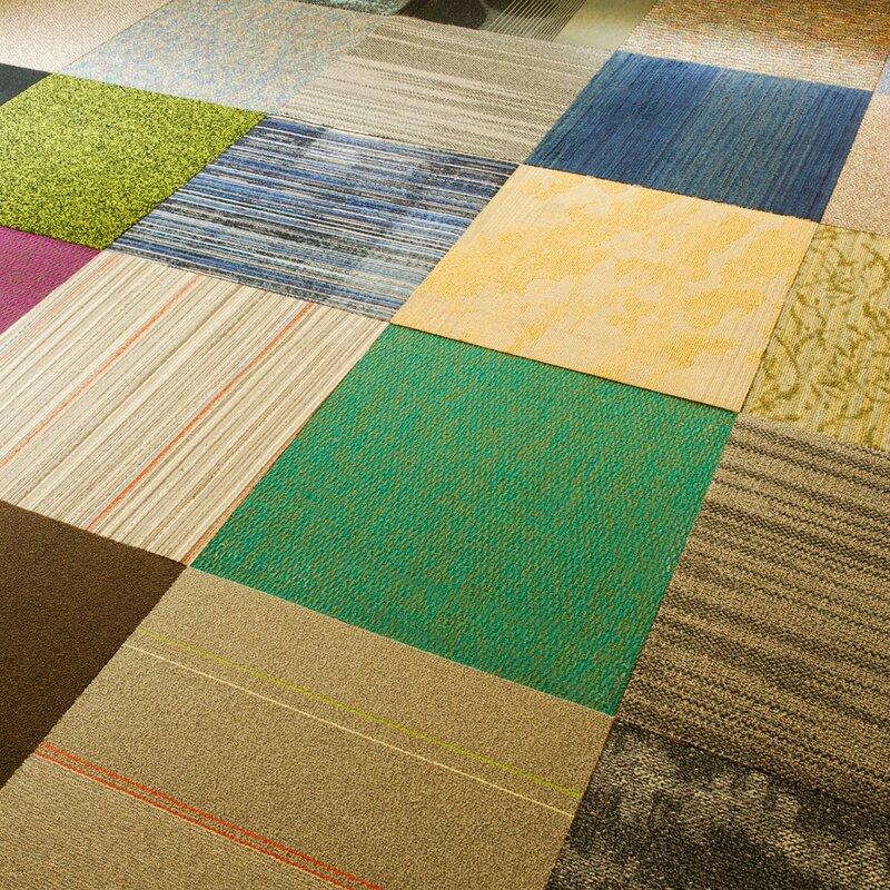 Level Loop Carpet Tile