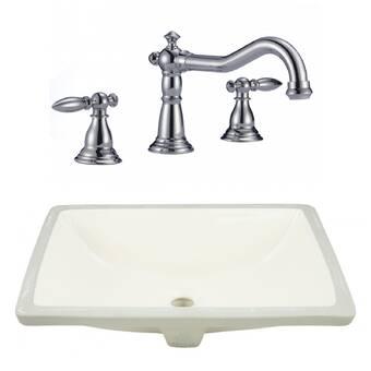 Barclay Samos Rectangular Vessel Bathroom Sink Wayfair