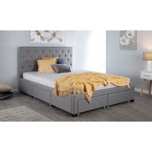 Glenville Upholstered Bed Frame By Brayden Studio