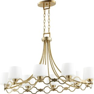 Rosdorf Park Brayshaw Traditional 8-Light Shaded Chandelier