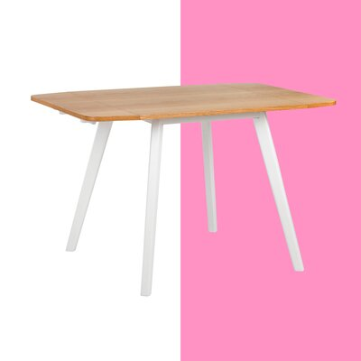 Aaliyah Zest Drop Leaf Dining Table by Hashtag Home