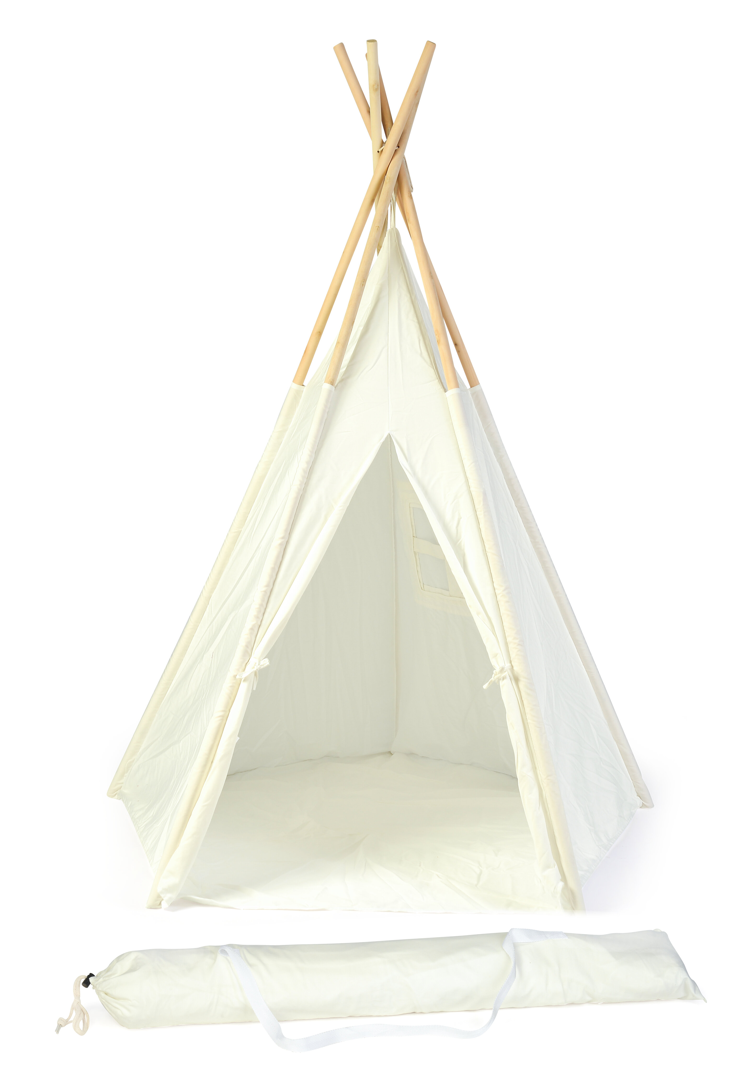 Trademark Innovations Triangular Play Tent With Carrying Bag Reviews Wayfair
