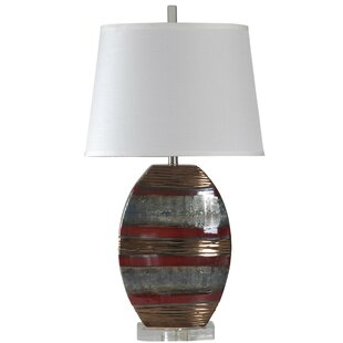 Best Reviews Melway Ceramic 34 Table Lamp By Winston Porter