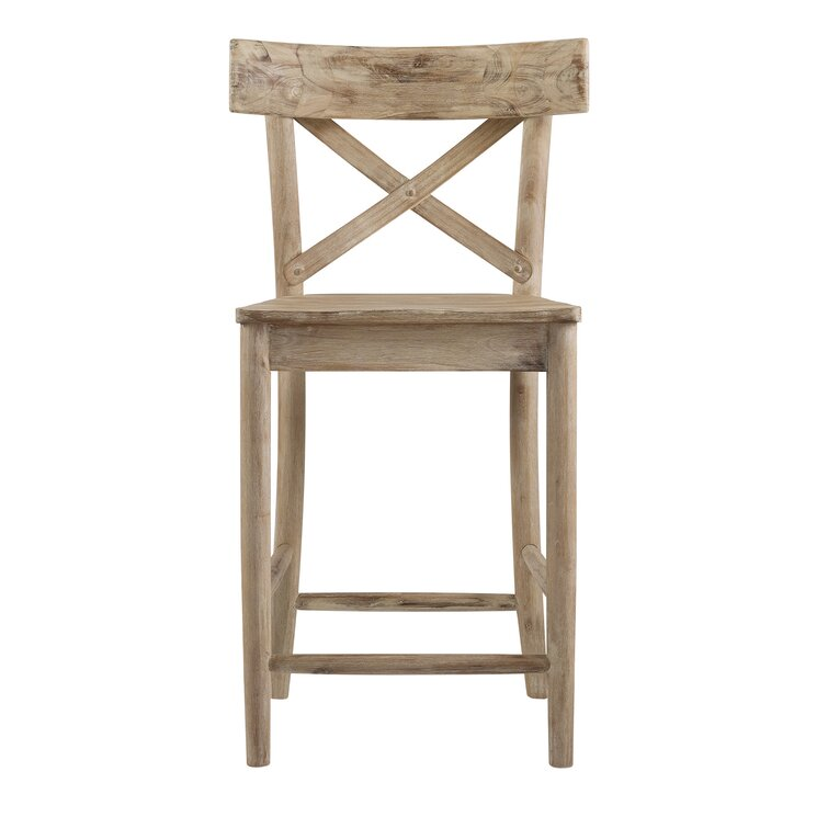 Eugley Solid Wood Bar & Counter Stool