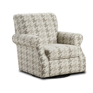 Latitude Run Betz Swivel Club Chair