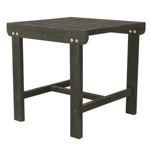 Southport Patio Wooden Side Table by Gracie Oaks Modern