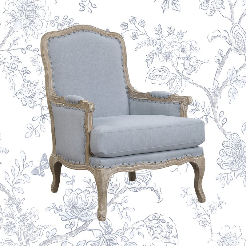 Bransford 29'' Wide Tufted Polyester Armchair