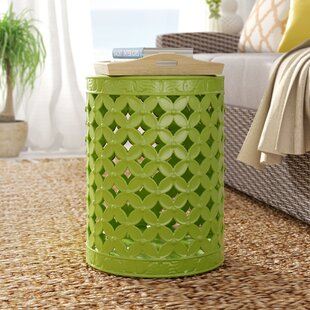 Affordable Gaynor Leaves Garden Stool By Beachcrest Home