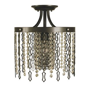 Chadwell 1-Light Semi Flush Mo..