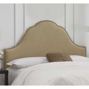 Rosecrans Nail Button Arch Upholstered Panel Headboard