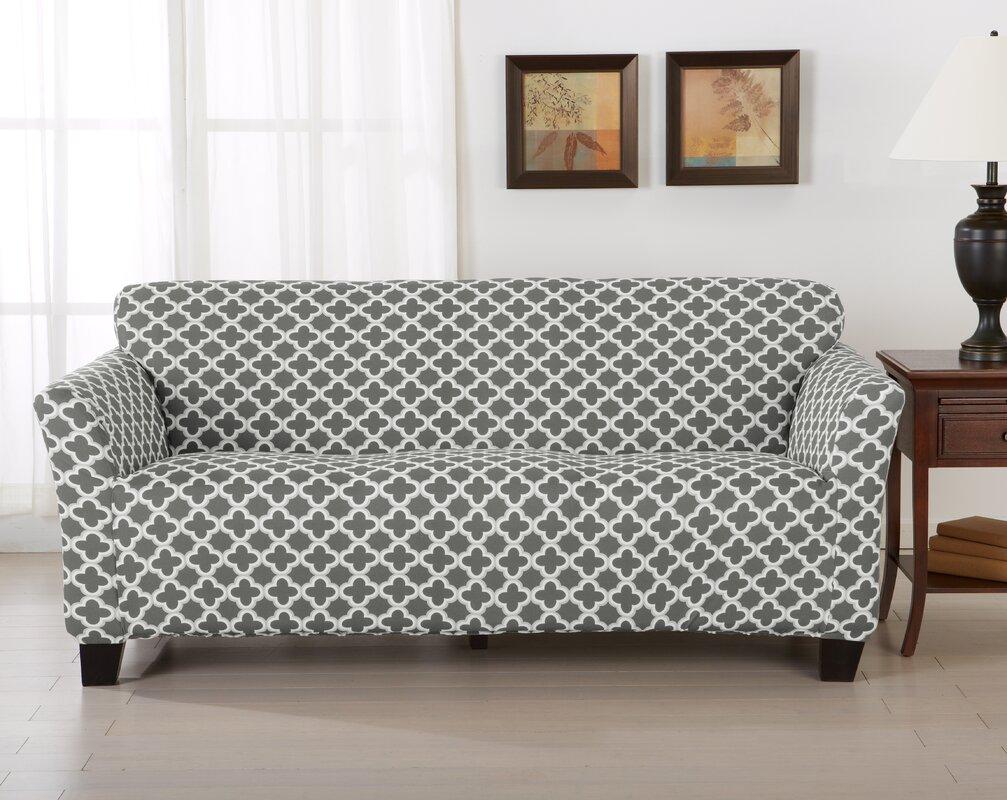Home Fashion Designs Brenna Box Cushion Sofa Slipcover
