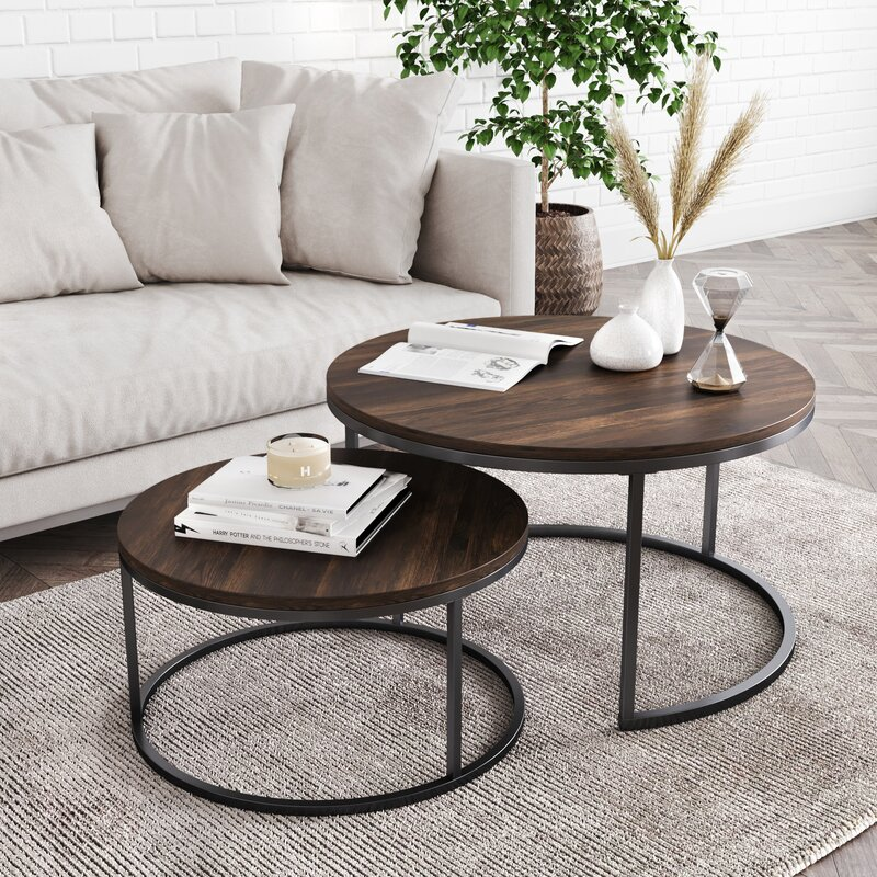 Foundry Select Maywood Frame 2 Nesting Tables
