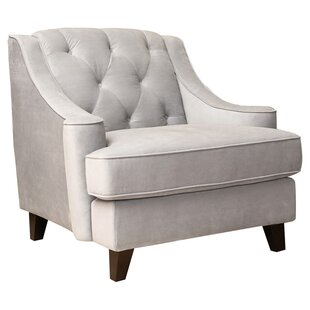 Arwood Tufted Arm Chair by Lark Manor