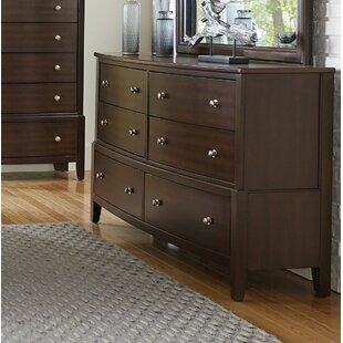 Wrought Studio Jeffries 6 Drawer Dresser