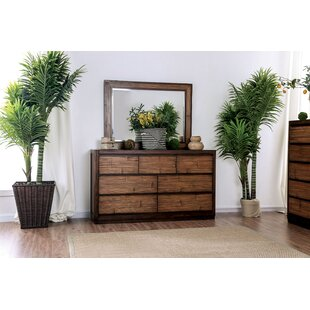 Anders 7 Drawer Dresser with Mirror
