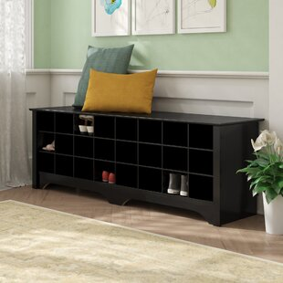 Ingham Shoe Cubby Storage Bench by Winston Porter