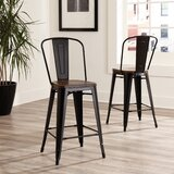 Grasso 41.8 Bar Stool (Set of 4) by Gracie Oaks