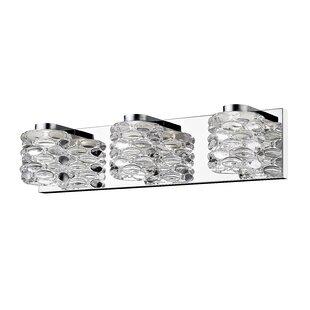 Price Check Imel 3-Light LED Vanity Light By Orren Ellis