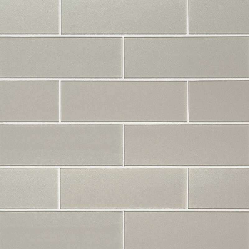 Gl Subway Tile In Beige