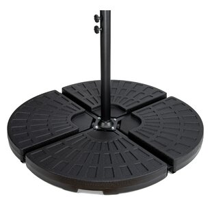 Carolyn Cantilever Water Weights for Offset Free Standing Umbrella Base Set (Set of 4)