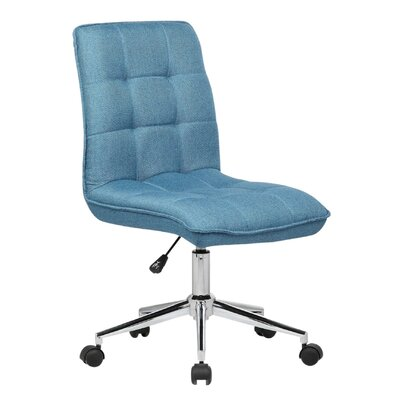 Geraghty Task Chair Color: Blue by Andover Mills