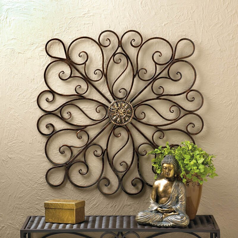 Good Copper Rustic Iron Wall Décor