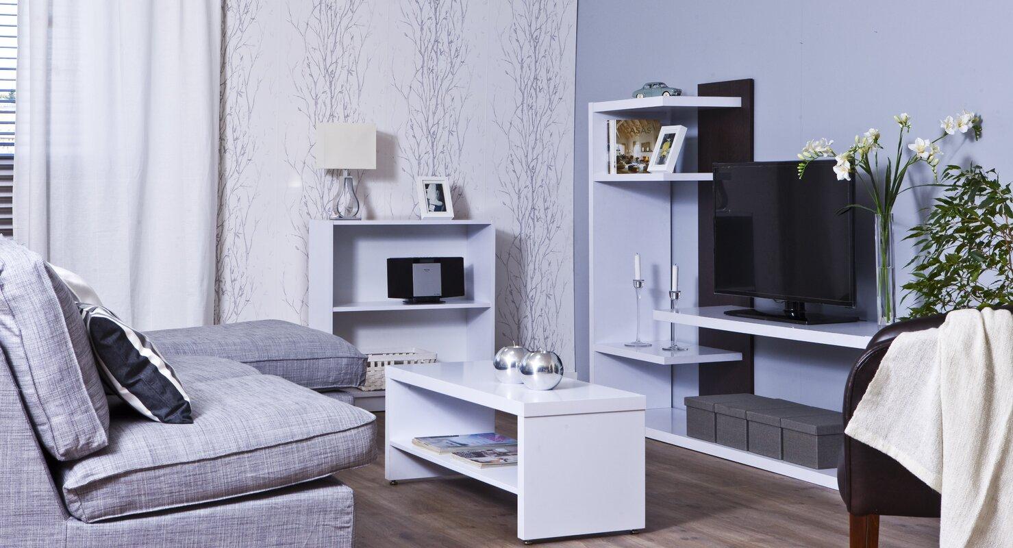 Hokku Designs Wohnwand Harker für TVs bis zu 75\