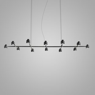 Spider 12-Light Kitchen Island Pendant by ZANEEN design